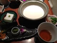 アントニオ小猪木 公式ブログ/稽古の狭間の豆腐 画像1