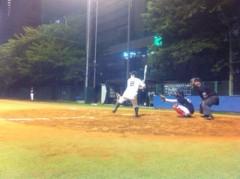 アントニオ小猪木 公式ブログ/ナイター草野球の出来事 画像1