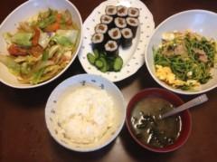 アントニオ小猪木 公式ブログ/野菜炒めと豆苗炒め 画像1