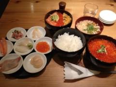 アントニオ小猪木 公式ブログ/千歳空港で寿司丼 画像1