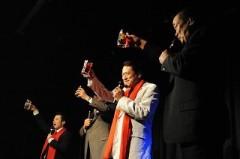 アントニオ小猪木 公式ブログ/猪木さんから祝福の乾杯! 画像1