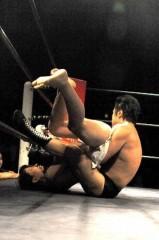 アントニオ小猪木 公式ブログ/格闘技戦で回転エビ固め? 画像1