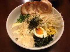 アントニオ小猪木 公式ブログ/冷やし豆腐ラーメン 画像1