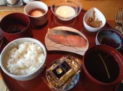 アントニオ小猪木 公式ブログ/前橋で朝食 画像1