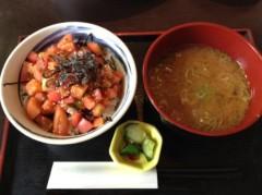 アントニオ小猪木 公式ブログ/やっぱりここのトマト丼! 画像1