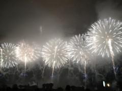 アントニオ小猪木 公式ブログ/横並びの花火! 画像1