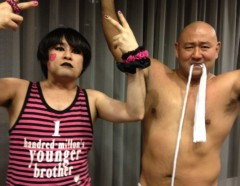アントニオ小猪木 公式ブログ/ヤング&男盛組勝利! 画像1
