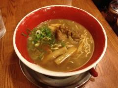 アントニオ小猪木 公式ブログ/徳島ラーメンの細麺 画像1