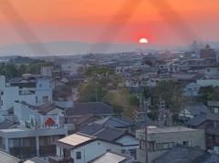 アントニオ小猪木 公式ブログ/豊橋の夕焼け 画像1