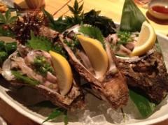 アントニオ小猪木 公式ブログ/富山駿粹の生牡蠣! 画像1