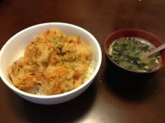 アントニオ小猪木 公式ブログ/寿司酢天丼 画像1
