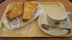 アントニオ小猪木 公式ブログ/喫茶店のトースト 画像1