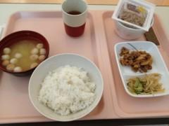 アントニオ小猪木 公式ブログ/入院日最後の食事 画像1