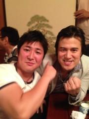 アントニオ小猪木 公式ブログ/久保田武蔵再会! 画像1