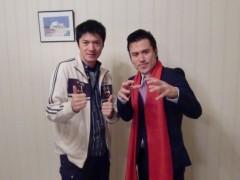 アントニオ小猪木 公式ブログ/長井秀和さんと仕事 画像1