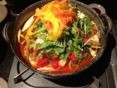 アントニオ小猪木 公式ブログ/打ち合わせ後のトマト鍋 画像1