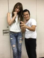アントニオ小猪木 公式ブログ/大阪で赤井沙希と写真! 画像1