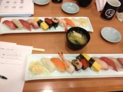アントニオ小猪木 公式ブログ/寿司屋で打ち合わせ 画像1