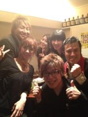 アントニオ小猪木 公式ブログ/餃子バーでパーティー 画像1