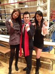 アントニオ小猪木 公式ブログ/ボクシング観戦を終えて 画像1
