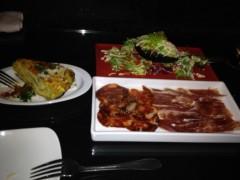 アントニオ小猪木 公式ブログ/銀座でスペイン料理 画像1