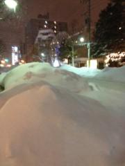 アントニオ小猪木 公式ブログ/札幌の雪の歩道 画像1