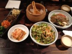 アントニオ小猪木 公式ブログ/打ち合わせで韓国料理 画像1