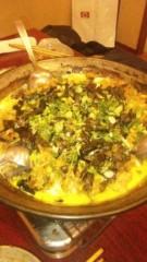 アントニオ小猪木 公式ブログ/最後はシメの雑炊 画像1
