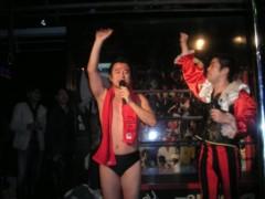 アントニオ小猪木 公式ブログ/神戸第二部無事に終わって 画像1