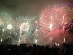 アントニオ小猪木 公式ブログ/雨にもめげずの花火大会 画像1