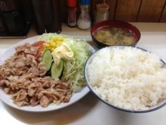 アントニオ小猪木 公式ブログ/生姜焼き定食が食べたくて 画像1