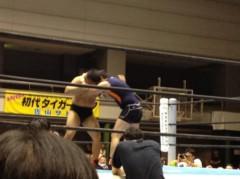 アントニオ小猪木 公式ブログ/藤波辰爾Jr.の試合! 画像1