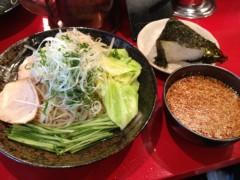 アントニオ小猪木 公式ブログ/広島つけ麺と韓国にぎり 画像1
