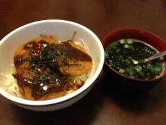 アントニオ小猪木 公式ブログ/デミグラスカツ丼 画像1