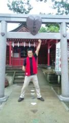 アントニオ小猪木 公式ブログ/恋木神社境内でダァーッ! 画像1