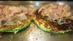 アントニオ小猪木 公式ブログ/大阪といえばのお好み焼き 画像1