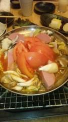アントニオ小猪木 公式ブログ/トマト鍋食べてみた 画像1