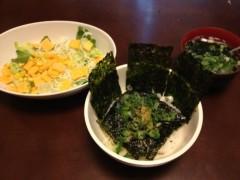 アントニオ小猪木 公式ブログ/韓国のり丼 画像1