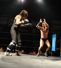 アントニオ小猪木 公式ブログ/吉田実代戦まだ探り合い 画像1