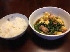 アントニオ小猪木 公式ブログ/豆苗を食べて 画像1