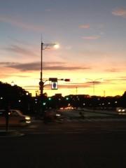 アントニオ小猪木 公式ブログ/日比谷の夕焼け 画像1
