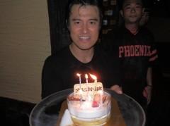 アントニオ小猪木 公式ブログ/42歳のケーキ 画像1
