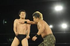 アントニオ小猪木 公式ブログ/チョップ合戦へ! 画像1