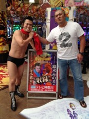 アントニオ小猪木 公式ブログ/神奈川の座間でロケ 画像1