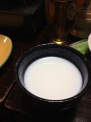 アントニオ小猪木 公式ブログ/焼酎牛乳割り 画像1