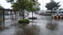 アントニオ小猪木 公式ブログ/道中の雨 画像1