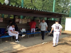 アントニオ小猪木 公式ブログ/晴れて草野球 画像1