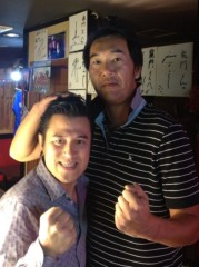 アントニオ小猪木 公式ブログ/尻ラジオに元プロ野球選手 画像1