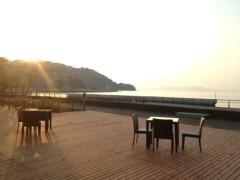アントニオ小猪木 公式ブログ/水俣の夕焼けとテラス 画像1