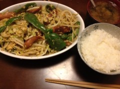 アントニオ小猪木 公式ブログ/在庫野菜炒め 画像1